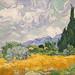 Champ de blé de Vincent Van Gogh (Fondation Vuitton, Paris)