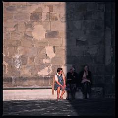 Tre signore (QUERHOCH) Tags: hasselblad 503cx color kodak ektachrome planar streetphoto