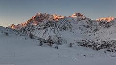 Quando a marzo c'era la neve (cesco.pb) Tags: passodelsempione simplonpass fletschhorn switzerland svizzera alps alpi alba dawn sunrise canon canoneos60d tamronsp1750mmf28xrdiiivcld montagna mountains