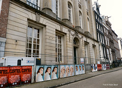 Felix Meritis 23-3-19 (k.stoof) Tags: felix meritis keizersgracht amsterdam centrum facade gevel affiches