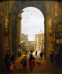 City life (Bosc d'Anjou) Tags: italy milan milano galleriavittorioemanuele piazzadellascala gallerieditalia italianart angeloinganni