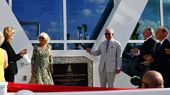 HRHsPlaqEJED (Cayman Islands Government Information Services) Tags: cayman royal visit charles prince wales camilla duchess cornwall owen roberts international airport united kingdom great britain