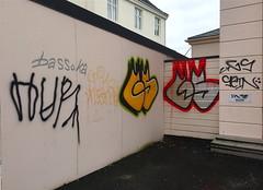 GS (svennevenn) Tags: gs hur tagging graffiti bergen gatekunst streetart