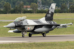 F-16 86-305 (RichardE73) Tags: f16 usaf 18th aggressors pacaf blue foxes nikon d500 200500 williamtown