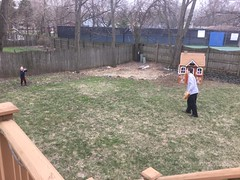 """Daddy Plays Catch with Paul • <a style=""""font-size:0.8em;"""" href=""""http://www.flickr.com/photos/109120354@N07/47540231832/"""" target=""""_blank"""">View on Flickr</a>"""