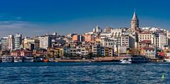 Skyline (bilalqasim) Tags: europe turkey istanbul sea sky water travel travelphotography nikoncameras nikond750 nikonphotography nikonfullframe wanderlust global tourism open international