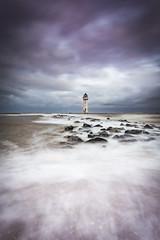 New Brighton lighthouse (Lukasz Lukomski) Tags: landscape newbrighton liverpool lighthouse mersey merseyside hightide wielkabrytania wirral uk unitedkingdom england water sea longexposure nikond7200 sigma1020 lukaszlukomski