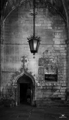 A place of wordship (Frances CdeB) Tags: architecture blackandwhite barcelona spain church cathedral