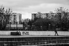 A date (IronBokeh) Tags: minsk belarus blackandwhite bnw bw street streetphoto streetphotography couple
