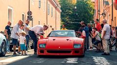 The Queen (Mattia Manzini Photography) Tags: ferrari f40 supercar supercars cars car carspotting nikon v12 red automotive automobili auto automobile classic modena italy italia ferrari70