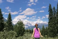 Mount Robson British Columbia (yuanxizhou) Tags: travel vacation wonderfulplace trees sky amazing landscape portrait cloud mountain mountrobson britishcolumbia banffnationalpark rockies