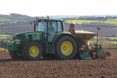 John Deere 6930 Tractor with an Amazone AD-PL302 Seed Drill & Power Harrow (Shane Casey CK25) Tags: john deere 6930 tractor amazone adpl302 seed drill power harrow jd green midleton onepass one pass traktor traktori tracteur trekker trator ciągnik sow sowing set setting drilling tillage till tilling plant planting crop crops cereal cereals county cork ireland irish farm farmer farming agri agriculture contractor field ground soil dirt earth dust work working horse horsepower hp pull pulling machine machinery grow growing nikon d7200