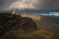 Na Ciochan (GenerationX) Tags: applecross applecrosspeninsula barr bealachnabà beinnbhán canon6d coireachaorachain highlands naciochan neil scotland scottish sgùrrachaorachain clouds landscape mountains rainbow sky