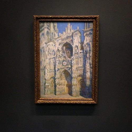 Lena's #Homesweethome :-) #rouen #monet #cathedrale @museeorsay