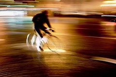 Night Rider | Paris France (Paul Tocatlian | Happy Planet) Tags: paris france night nightphotography nighttime nighttimephotography city citylights cityscape street