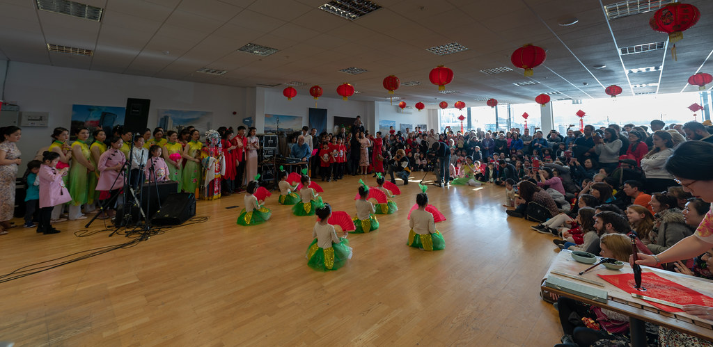 YEAR OF THE PIG - LUNAR NEW YEAR CELEBRATION AT THE CHQ IN DUBLIN [OFTEN REFERRED TO AS CHINESE NEW YEAR]-148918