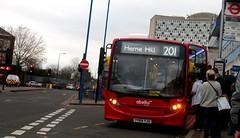 Abellio London 8837 on route 201 Morden 17/02/19. (Ledlon89) Tags: bus buses transport london morden surrey londonbus londonbuses goaheadlondon abellio qualityline mordenstation tfl transportforlondon londongeneral