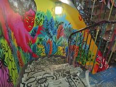 59 Rivoli, collectif d'artistes - 59 rue de Rivoli, Paris Ier (Yvette G.) Tags: streetart fresquemurale 59rivoli paris paris1 ruederivoli escalier 1mois1thème