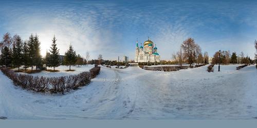 Omsk Успенский Собор ©  Aleksey Ignatchenko