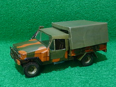 AGRALE Marruá 1/4 ton (RonaldoM27) Tags: jeep ofroad maquette modelismo miniatura agrale utilitário papermodel papercraft