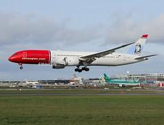 Norwegian                                          Boeing 787-9                                      G-CKWF (Flame1958) Tags: norwegian norwegianb787 boeing787 boeingdreamliner dreamliner boeing b787 787 b7879 7879 dub eidw dublinairport 130319 0319 2019 1278