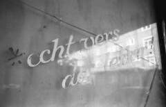 Fresh is good (Arne Kuilman) Tags: amsterdam nikon fm3a vivitar 28mm luckyshd iso100 id11 7minutes homedeveloped stock analogue film slogan store winkel bakery bakker