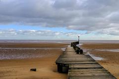 Cleethorpes Jetty (rick.midgley123) Tags: cleethorpes jetty pier sea sky wood beach fuji x100f explore deserted solitude peaceful quiet