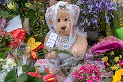 Outside the Al Huda Mosque, 21 Clyde St., Dunedin, New Zealand, 9.24 AM Mon. 18 March 2019 (mark_mcguire) Tags: dunedin dunedinnz newzealand nz alhudamosque alhudamosquedunedin mosque mosqueshooting mosqueattack christchurch christchurchnz christchurchterroristattack christchurchmosqueshooting dpsnz christchurchterrorism newzealandterrorism newzealandterroristattack streetphotography sonya7iii sony55mm canpubphoto