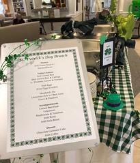 (cafe_services_inc) Tags: cafeservicesinc glendaleseniordining scottfarrar stpatricksday promo promotions menu decorations foodline