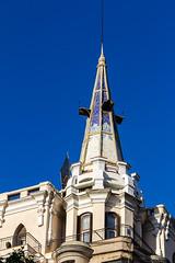 cupula edificio calle Principe de Vergara Madrid (Rafael Gomez - http://micamara.es) Tags: cprincipedevergara esp españa madrid cupula edificio calle principe de vergara barrio salamanca