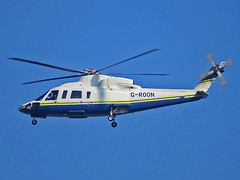 G-ROON Sikorsky S76 (SteveDHall) Tags: aircraft airport aviation airfield aerodrome helicopter horseracing aintreeracecourse aintree grandnational 2019 generalaviation ga sikorsky s76 sikorskys76 sk76