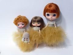 Caramelo !!! (feltland) Tags: feltland blythe custom holala bokkadoll petiteblythe handmade knittingcrochet outfit craft doll muñeca boneca