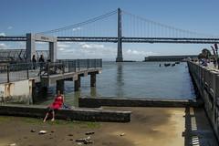 The Embarcadero (Jim Watkins Photography) Tags: sanfrancisco california streetphotography embarcadero bridge bay baybridge