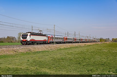 From Russia with Love.. (Marco Stellini) Tags: e402 rzd moscow nice train russian railways europe cote azur trenitalia