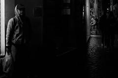 Rome nightlife (tom-s) Tags: streetphotography street rome italy blackwhite night urban