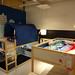 イケアのハイベッドを2つ置いた子供部屋の写真