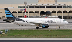 5A-ONO LMML 08-01-2018 Afriqiyah Airways Airbus A320-214 CN 5448 (Burmarrad (Mark) Camenzuli Thank you for the 15.5) Tags: 5aono lmml 08012018 afriqiyah airways airbus a320214 cn 5448