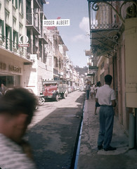 Martinique Island (jericl cat) Tags: vintage vacation slide picture travel martinique caribbean roger albert omega sign island