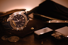 Vintage Breitling (Victor Clerino) Tags: watch watches breitling packshot macro closeup vintage leather