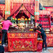 Cleaning day in Wan Chai Temple