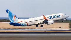 FlyDubai Boeing B737-800 A6-FDG Muscat (MCT/OOMS) (Aiel) Tags: flydubai boeing b737 b737800 a6fdg muscat canon60d tamron70300vc