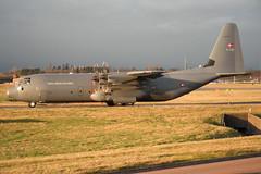 Royal Danish Air Force Lockheed Martin C-130J-30 Hercules B-536 BHX 16/12/11 (bhx_flights) Tags: royaldanishairforce airforce hercules airport takeoff military bhx egbb birmingham birminghamairport lockheedmartin c130j