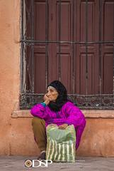 Marrakech, Morocco (David Simchock Photography) Tags: 2006 africa davidsimchock davidsimchockphotography dijoncreativesolutions djemaaelfna marrakech marrakesh morocco nikon pai vagabondvistas clientequatorialtravel door elderlywoman image magenta photo photograph photography plaza travel travelphotography