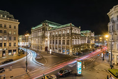 Vienna State Opera Night View (krugli) Tags: vienna state opera building night view landmark travel urban austria house europe architecture city cityscape illuminated famous light street theater center exterior outdoors austrian hall classic facade wien wiener music dark architectural place classical monument concert capital sightseeing illumination european national attraction scene ringstrasse boulevard arttourism renaissancestyle old traffic lights