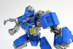 Benny LR Mech Suit 04 (chubbybots) Tags: lego mech mechsuit benny blue robot