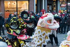 Chinatown, Boston Chinese New Year Celebration (kuntheaprum) Tags: chinatownboston chinesenewyearcelebration yearofthepig sony a7riii tamron 2470mm f28 festival parade dragon firework