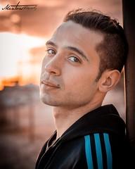 Sesión de Ithan (Raúl Gallego Huete) Tags: olympusomdem10markiii zuiko45mm18 portrait portraitphotography beach beautiful sunset