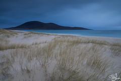 The black hill (mvj photography) Tags: ecosse scotland scarista hill colline plage beach dunes sand sea seascape seashore outerhebrides isleofharris longexposure expositionlongue