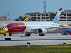 G-CKOF (amcripps57) Tags: aircraft airlines airport b787 boeing gckof kfll make norwegianairshuttle