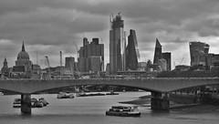 London's Crazy Skyline (brightondj) Tags: 2010s 2019 2019march london stpauls waterloobridge bridge riverthames